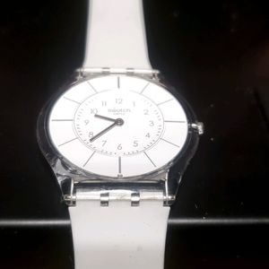 Swatch watch swiss super thin watch